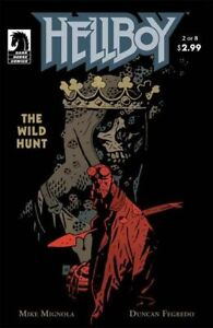DARK HORSE HELLBOY THE WILD HUNT #2 COMIC 1ST APPEARANCE NIMUE BLOOD QUEEN NM