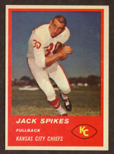 1963 Fleer #46 Jack Spikes CHIEFS NM-MT