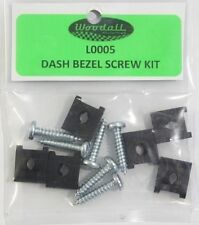 67-72 Chevy/GMC C10 Truck Dash Bezel Screws w/ U-Clips