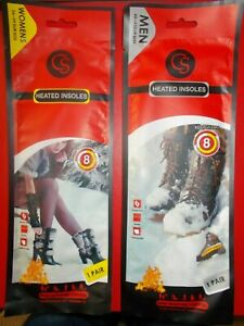 CS HEATED INSOLES - CHOOSE FROM WOMEN 36-39 EUR SIZE OR MEN 40-43 EUR SIZE