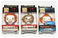 IT Pennywise Keychain Set of 3 Funko Pocket Pop Lot Horror NEW