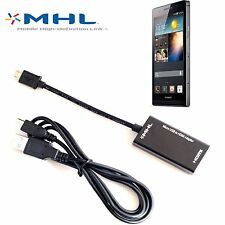 Micro USB MHL to HDMI Cable Adapter Converter for HTC Sony LG Nokia Samsung