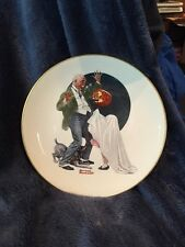 Norman Rockwell Trick Or Treat Saturday Evening Post Classics Collector Plate