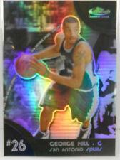 Cartes de basketball réfracteur
