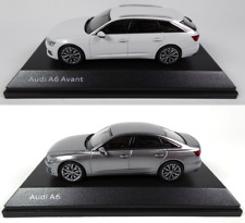 Lot de 2 Audi A6 1/43 iScale - Voiture miniature Diecast Model Car AU3
