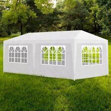 vidaXL Outdoor Party Tent Canopy Pavilion Events 6 Walls Garden Blue/White