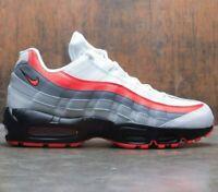 Nike Air Max 95 Essential Comet White Crimson Red Black 749766 112 Multi Sizes