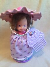 "Rare Vintage 1981 Cupcake Jam Pops Violet Grape Doll Kenner Tonka 5""  purple"