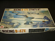 A Hasegawa unmade plastic kit of a Boeing B-47E Strato jet, Boxed