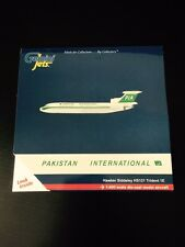 PIA Pakistan Hawker Siddeley HS121 Trident 1E Model Gemini GJPIA768 1:400 AP-AUG