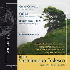 MARIO CASTELNUOVO-TEDESCO   Guitar Conerto, Quintet, Romancero Gitano
