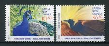 Papua New Guinea PNG 2017 MNH JIS India Peacocks Birds of Paradise 2v Set Stamps