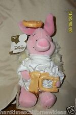 "Disney Store ""Choir Angel Piglet"" Mini Bean Bag Stuffed  8"" With Tag"