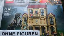 LEGO JURASSIC WORLD 75930 LOCKWOOD´S VILLA MUSEUM (OHNE FIGUREN OHNE DINOS) NEU