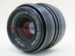 Vintage Carl Zeiss Jena DDR MC Flektogon 2.4/35 Camera Lens
