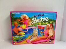 Barbie Wet 'n Wild Pool Playset