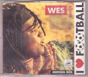 Wes - I Love Football (Maxi-CD 1998)