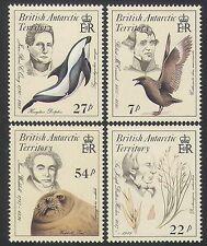 BAT 1985 naturalisti/DELFINO/Guarnizione/Bird/Piante/NATURA/Marino/Fauna Selvatica 4v (n35349)