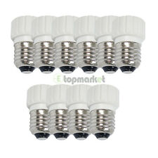 10x New LED Light Bulb Screw Base Bright E27 to GU10 Adapter Converter