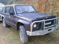 WRECKING ONLY 92 4WD GQ 4.2 PETROL NISSAN PATROL CARBY MODEL