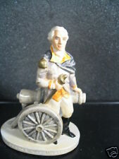 Sebastian George Washington W/ Cannon New In Box New Old Stock