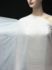 3 Yard/ 2.7 meters Silk Cotton Lining Fabric Super Comfy Off White
