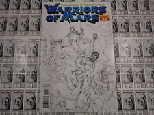 Warriors of Mars (2012) Dynamite - #13, 1:10 Joe Jusko Sketch Variant CVR, NM-