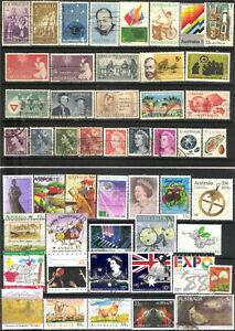 Australien 50  Briefmarken.