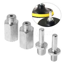 "Steel M10 M14 5/8""-11 Thread Drill Aapter Polishing Pads Backer Plate Polisher"