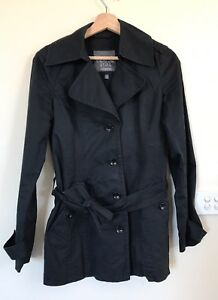Esprit Coat Jacket Black Size 6 To Fit Size 6 And Size 8