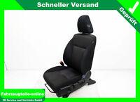 Honda Jazz 4 IV GK Sitz Fahrersitz vorn links Stoff schwarz anthrazit