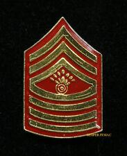 AUTHENTIC US MARINE MASTER GUNNERY SERGEANT MGYSGT E-9 HAT PIN INSIGINIA RANK