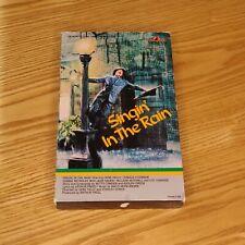 SINGIN' IN THE RAIN (1952, 1983 Big Box VHS) Gene Kelly Original Release Rare