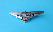 HILLMAN - British car ... nice rare pin badge