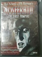 Nosferatu NEW The First Vampire DVD David Carradine Factory Sealed 2000T