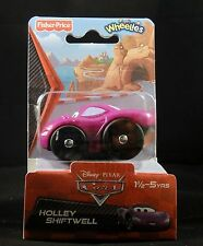 Fisher Price Little People Wheelies Cars 2 Holley Shiftwell - New in Box
