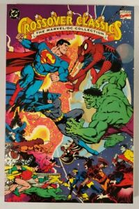 CROSSOVER CLASSICS THE MARVEL/DC COLLECTION TPB (1991) *RARE* NM/NM+
