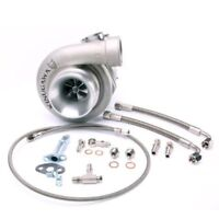 """Kinugawa Ball Bearing Turbo 4"""" GT3076R w/ .82 In/Out V-Band Stainless Turbine"""