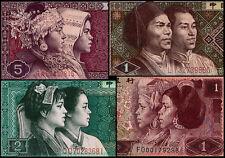 China X4 Unused Banknotes.