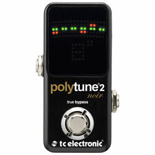 TC Electronic Polytune 2 Noir - Mini Polyphonic Guitar Pedal Tuner