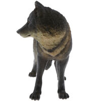 Wolf Nature Animals Model Hunter Wolves Figurine Statue Collectible Toy