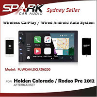 WIRELESS CARPLAY ANDROID AUTO BT USB RADIO FOR HOLDEN COLORADO RODEO PRE 2012 AD