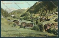 Aosta Gressoney cartolina ZQ4796