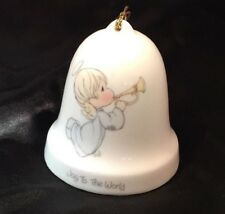 "Precious moments "" Joy To The World "" bell From 1985"