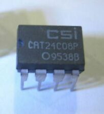 Qty 10 New CSI 24CO8P 8K 5.0V IC Serial EEPROMs DIP-8 24CO8