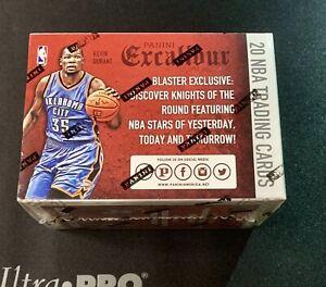 2015-16 Panini Excalibur Basketball Blaster Box Factory Sealed
