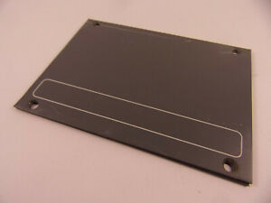 95mm x 128mm Soundcraft plain panels for broadcast bridge desks  M617