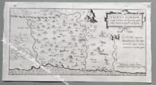 """PALESTINA. """"TRIBUS SIMEON…. In Terrae Sanctae …"""". Adricomius, circa 1600."""