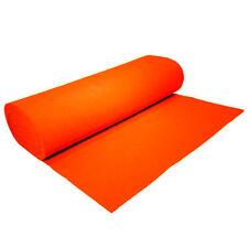 """Solid Acrylic Felt Fabric - Orange - Sold By The Yard - 72"""" Width"""