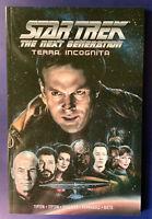Star Trek TNG Terra Incognita IDW 2019 - trade paperback, signed